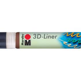 Marabu 3D Liner 646 mellom brun