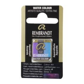 Rembrandt Akvarell Halfpan – 861 chameleon red/violet/blue