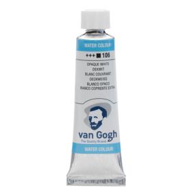 Van Gogh Akvarelltube 10ml - 106 Opaque white