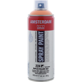 Amsterdam spray 400ml, 224 naples yellow red