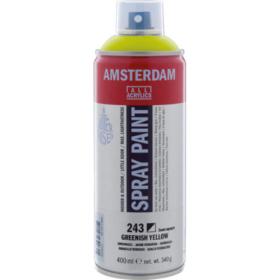 Amsterdam spray 400ml, 243 greenish yellow