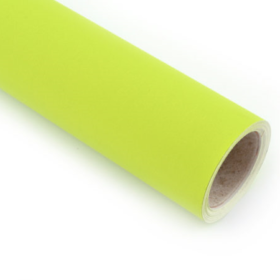 Gavepapir 10m lime matt