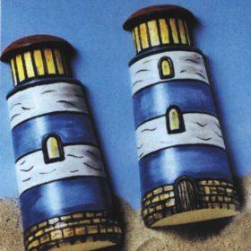 Gipsform fyrtårn