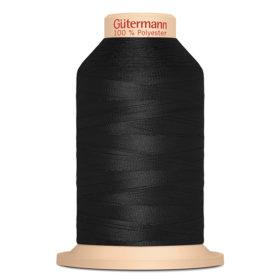 Gütermann Tera 180 2000m – 000 – Sort