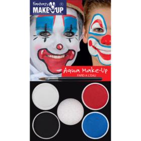 Fantasy Make-up sett - klovn