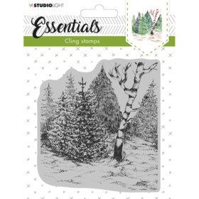 Studio Light Cling Stamp Essentials – Christmas 14