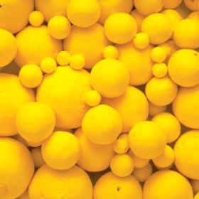 Vattkule gul, 30mm 1stk