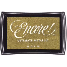 Encore metallic ink pad Gold