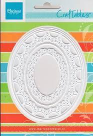 Craftables - passepartout oval
