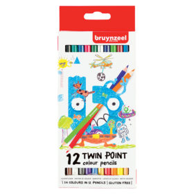 Bruynzeel KIDS – Twin Point Fargeblyanter 12stk