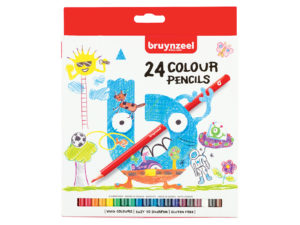 Bruynzeel KIDS – Fargeblyanter 24stk
