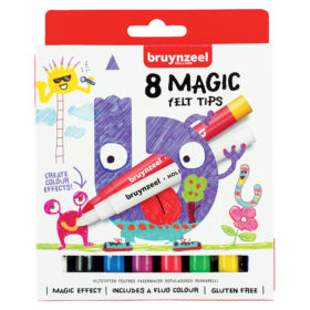 Bruynzeel KIDS – Magic Felt Tips-tusjer