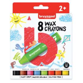 Bruynzeel KIDS – Wax Crayons 8stk