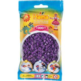 Hama midi 1000stk - 07 lilla