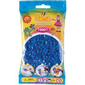 Hama midi 1000stk - 09 lys blå