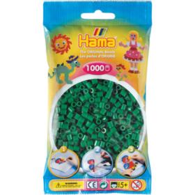 Hama midi 1000stk - 10 grønn