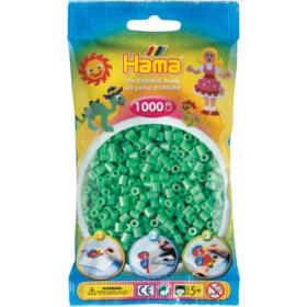 Hama midi 1000stk - 11 lys grønn