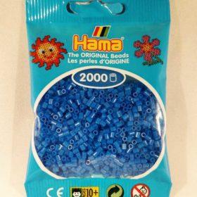 hama mini 2000stk Fl.blå