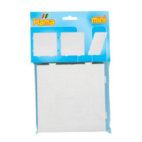 Hama mini piggplate firkant 14x14cm 2pk