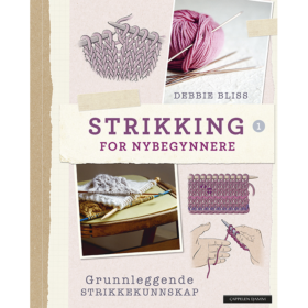 Bok - Strikking for nybegynnere