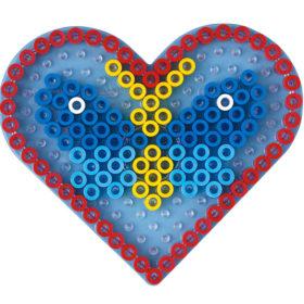 Hama Maxi Piggplate – Hjerte