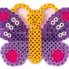 Hama maxi piggplate - sommerfugl