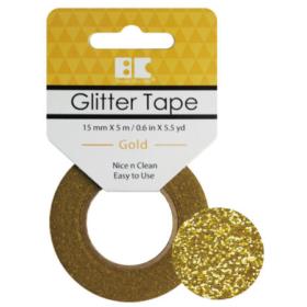 BC Glitter Tape  15mm x 5m - gold