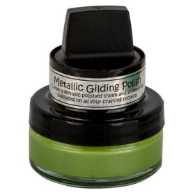 Cosmic Shimmer Metallic Gilding Polish - Citrus green