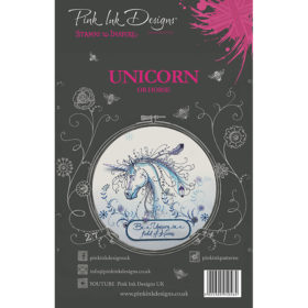 Pink Ink Designs A5 Clear Stamp Set – Unicorn