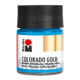 Marabu Colorado Gold 50ml – 753 metallic-light blue