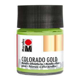 Marabu Colorado Gold 50ml – 762 metallic-light green