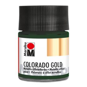Marabu Colorado Gold 50ml – 768 metallic-dark green