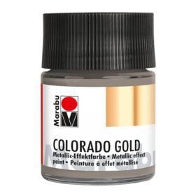 Marabu Colorado Gold 50ml – 772 metallic-anthracite