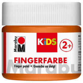 Marabu KIDS Finger Paint 100ml – 013 Orange