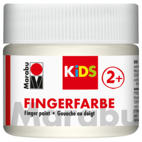 Marabu KIDS Finger Paint 100ml - 070 hvit