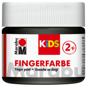 Marabu KIDS Finger Paint 100ml – 073 Sort