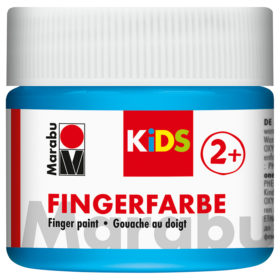 Marabu KIDS Finger Paint 100ml – 090 Lys Blå