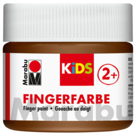 Marabu KIDS Finger Paint 100ml - 285 brun