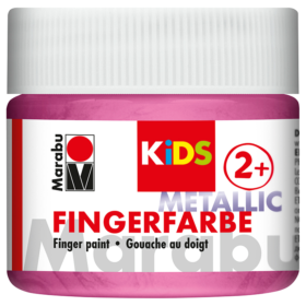 Marabu KIDS Finger Paint 100ml – Metallic Rose Pink