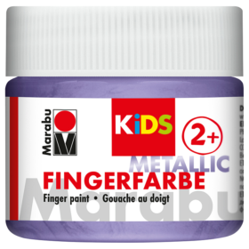 Marabu KIDS Finger Paint 100ml – Metallic Violet