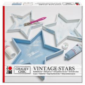 Marabu chalky-chic Vintage stars