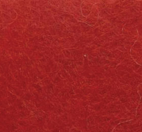 Ull 200g - 614 skarp rød