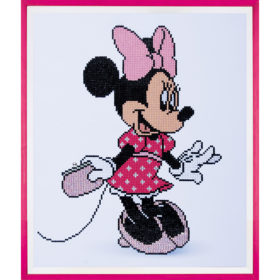 Diamond painting – Minnie med veske 35x42cm