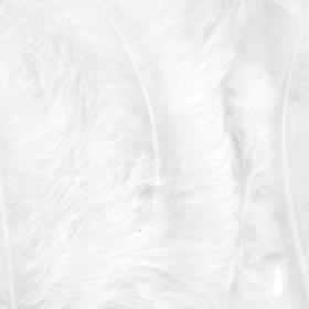 fjær 15stk hvit