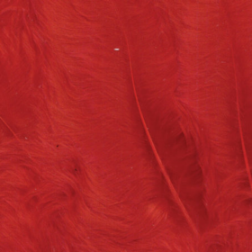 fjær 15stk rød