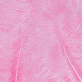fjær 15stk rosa