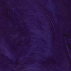 fjær 15stk lilla