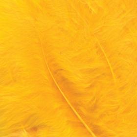 fjær 15stk gul