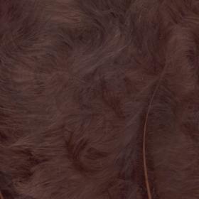 fjær 15stk brun