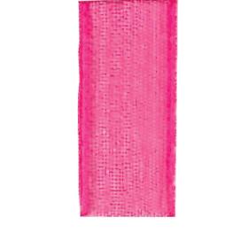 Bånd organza 10mm 10m – pink